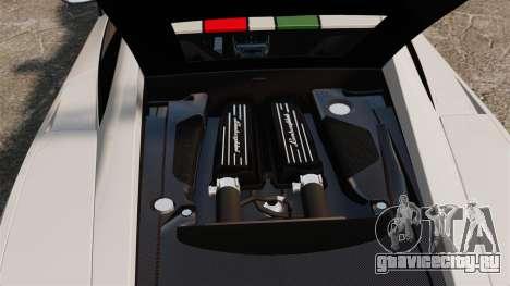 Lamborghini Gallardo LP570-4 Superleggera 2011 для GTA 4 вид изнутри