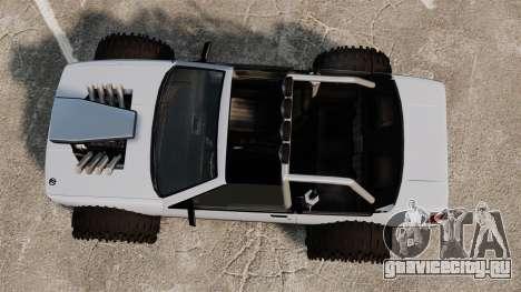 Jeep Futo Final для GTA 4 вид справа