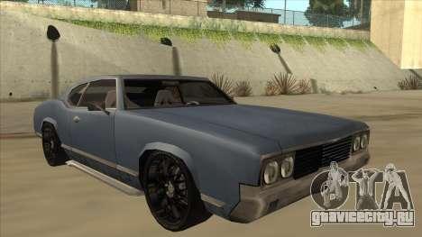 Tuned Sabre для GTA San Andreas вид слева