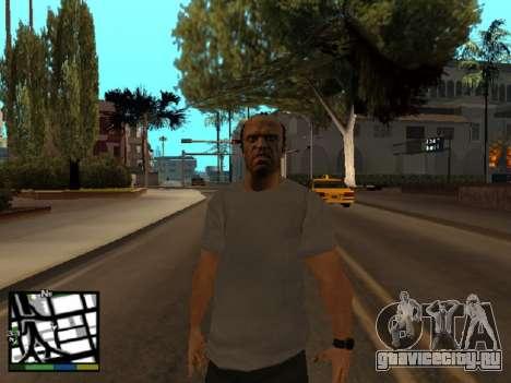 Trevor Filips из GTA 5 для GTA San Andreas третий скриншот