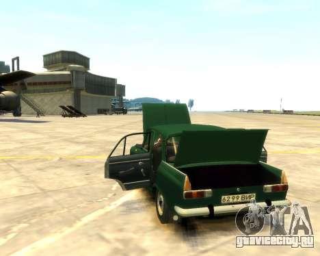 Москвич 412 для GTA 4 вид сзади