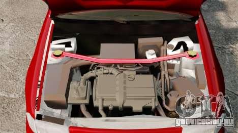 Opel Astra GSi 1993 для GTA 4 вид сзади