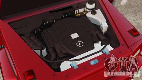 Mercedes-Benz G500 для GTA 4 вид сзади