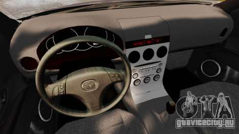 Mazda 3 Sport для GTA 4 вид сзади слева