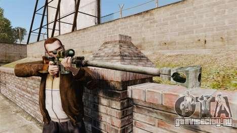 Крупнокалиберная снайперская винтовка для GTA 4 третий скриншот