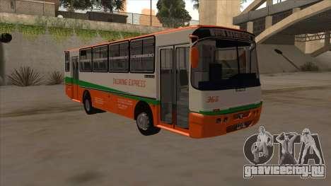 Tacurong Express 368 для GTA San Andreas вид слева