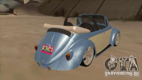 VW Beetle 1969 для GTA San Andreas