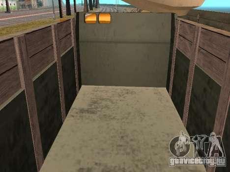 ГАЗ 66 Самосвал для GTA San Andreas вид сбоку