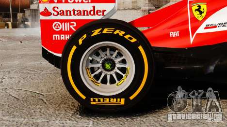 Ferrari F138 2013 v2 для GTA 4 вид сзади
