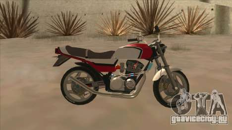 Honda CBX400F для GTA San Andreas вид слева
