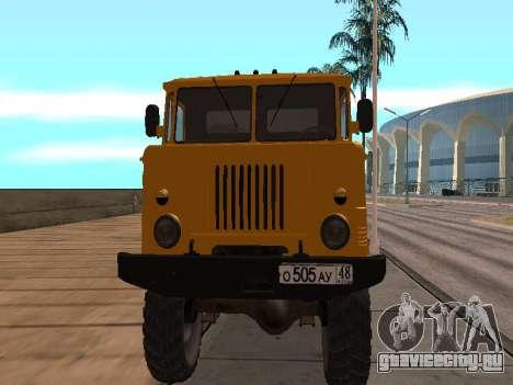ГАЗ 66 Самосвал для GTA San Andreas вид слева