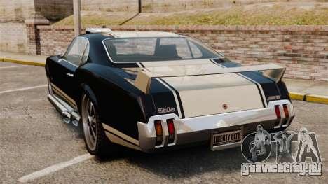 Sabre GT Muscle Version для GTA 4 вид сзади слева