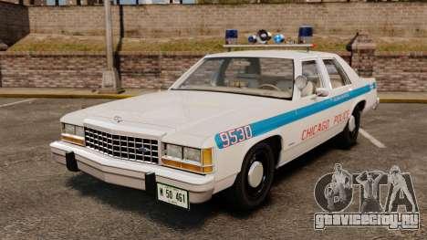 Ford LTD Crown Victoria 1987 [ELS] для GTA 4