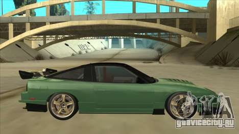 Nissan 180SX Uras GT для GTA San Andreas вид сзади слева