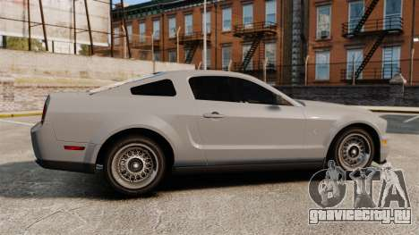 Ford Mustang Shelby GT500 2008 для GTA 4