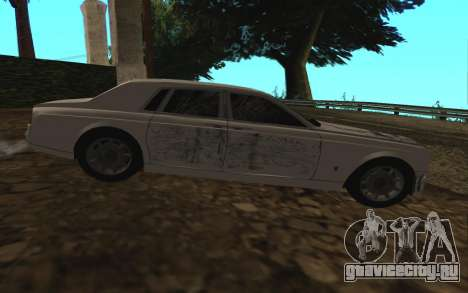 Rolls-Royce Phantom v2.0 для GTA San Andreas вид сверху