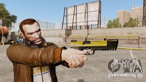 Самозарядный пистолет H&K USP v4 для GTA 4