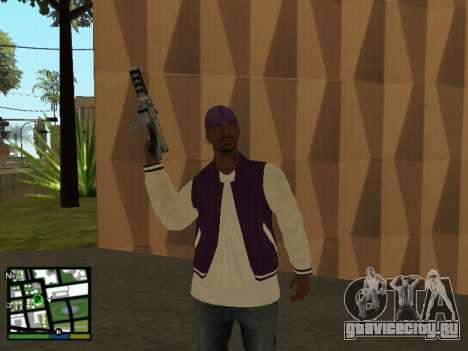Баллас для GTA San Andreas третий скриншот