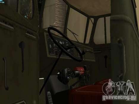 Урал 4320 Тонар для GTA San Andreas вид сбоку