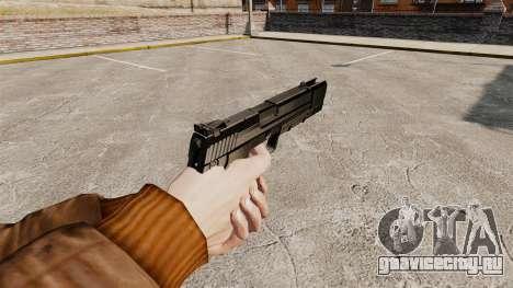 Самозарядный пистолет H&K USP v1 для GTA 4 второй скриншот