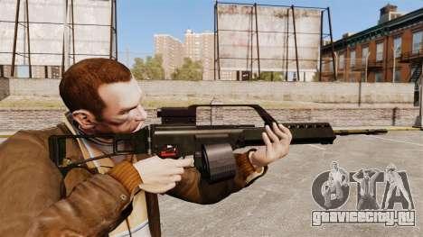 Штурмовая винтовка H&K MG36 v1 для GTA 4