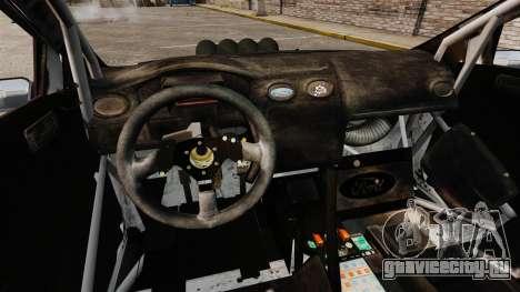 Ford Focus RS Munchis WRC для GTA 4 вид изнутри