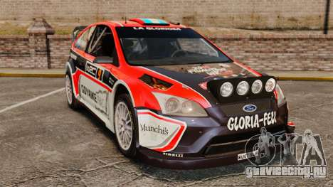Ford Focus RS Munchis WRC для GTA 4