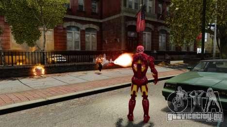 Железный Человек IV v2.0 для GTA 4 седьмой скриншот