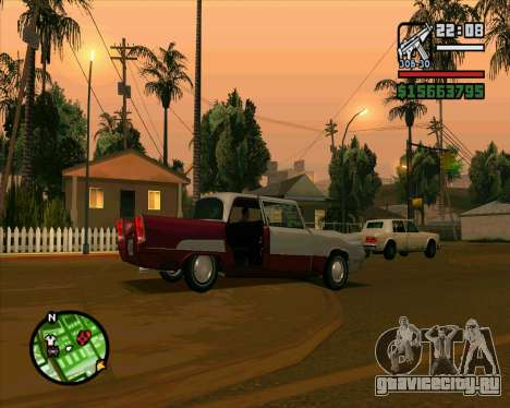 Oceanic HD для GTA San Andreas вид изнутри