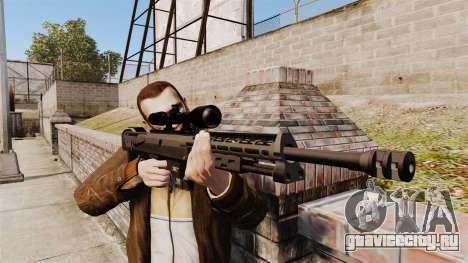 Снайперская винтовка DSR-1 для GTA 4 третий скриншот