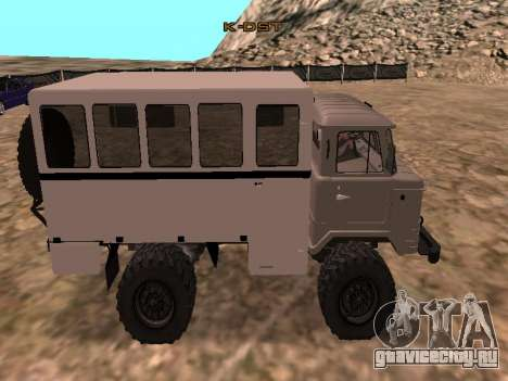 Газ 66 Вахта для GTA San Andreas вид слева