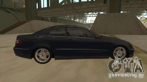 Mercedes-Benz CLK55 AMG 2003 для GTA San Andreas вид слева