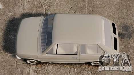 Fiat 126 v1.1 для GTA 4 вид справа