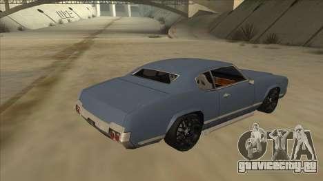 Tuned Sabre для GTA San Andreas вид справа