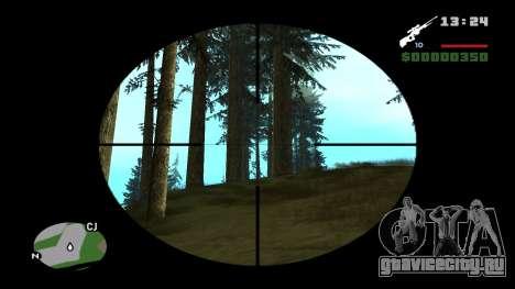 L96А1 для GTA San Andreas второй скриншот