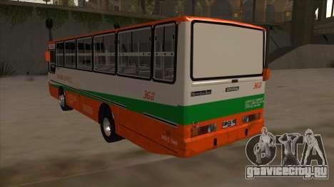 Tacurong Express 368 для GTA San Andreas вид сзади