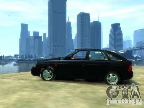 Lada Priora для GTA 4 вид слева