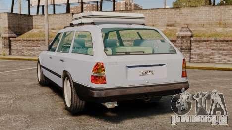Mercedes-Benz W124 Wagon (S124) для GTA 4 вид сзади слева