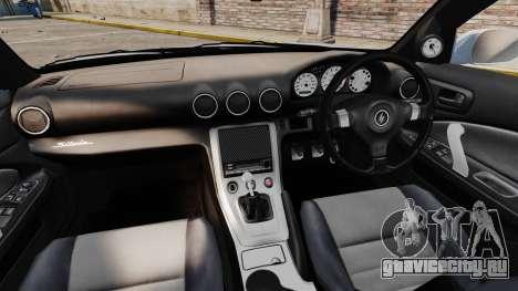 Nissan Silvia S15 v4 для GTA 4 вид сзади