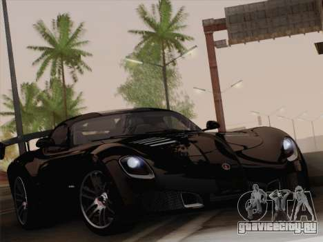 Devon GTX 2010 для GTA San Andreas вид сзади слева