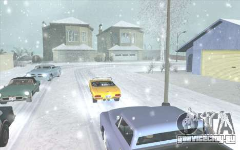 Snow San Andreas 2011 HQ - SA:MP 1.1 для GTA San Andreas