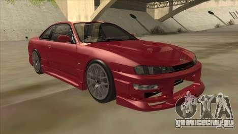 Nissan Silvia S14 RB26DETT Black Revel для GTA San Andreas