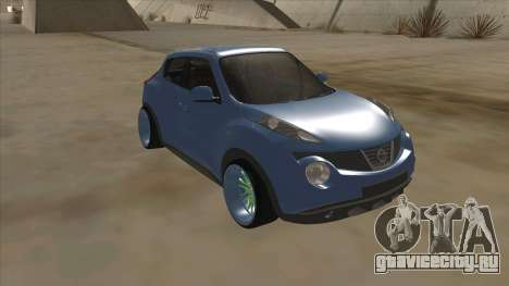 Nissan Juke Lowrider для GTA San Andreas вид слева