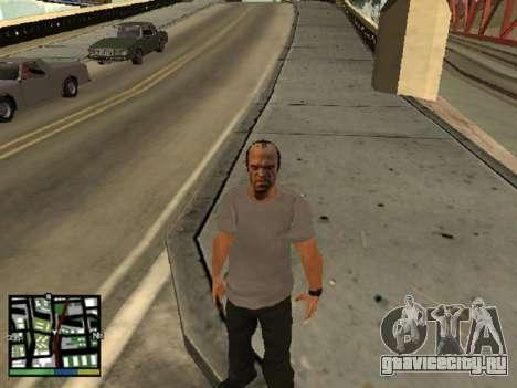 Trevor Filips из GTA 5 для GTA San Andreas