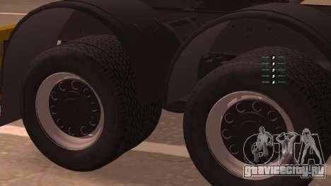 КамАЗ 260 Turbo для GTA San Andreas вид сзади слева