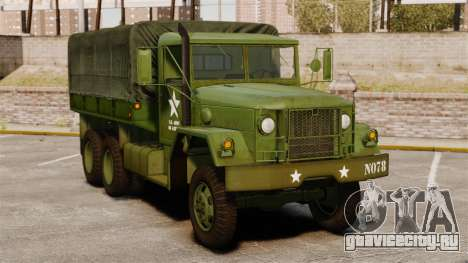 Базовый военный грузовик AM General M35A2 1950 для GTA 4