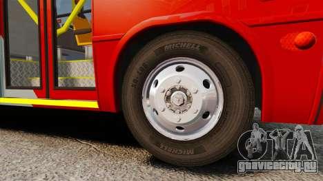 Mercedes-Benz Neobus Thunder LO-915 для GTA 4 вид сбоку