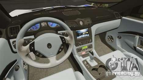 Maserati MC Stradale Infinite Stratos для GTA 4 вид изнутри