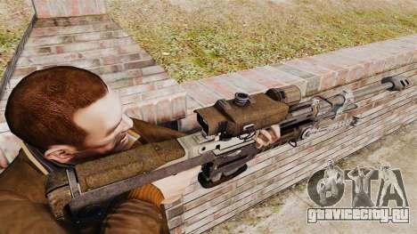Снайперская винтовка Halo Reach SRS 99 для GTA 4 второй скриншот