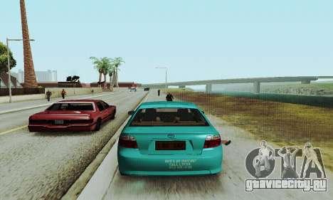Toyota Corolla City Mastercab для GTA San Andreas вид справа